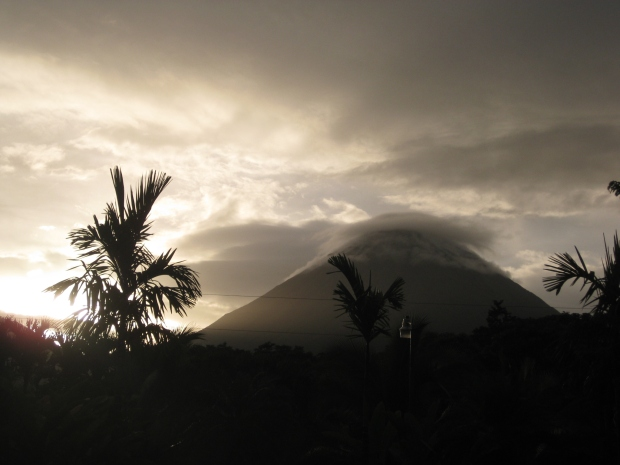Arenal volcano. One of many spectacular volcanoes in Costa Rica